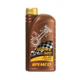 PM0320-1 PEMCO iDRIVE 300, iDRIVE 320 0W-20, 1l, Synthetiköl Motoröl PM0320-1 günstig kaufen