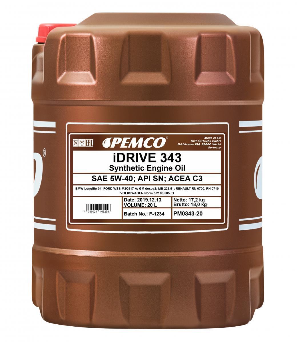 Original FORD Motoröl PM0343-20