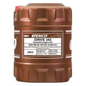 PM0343-20 PEMCO iDRIVE 300, iDRIVE 343 5W-40, 20l, Synthetiköl Motoröl PM0343-20 günstig kaufen