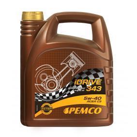 PM0343-5 PEMCO iDRIVE 300, iDRIVE 343 5W-40, 5l, Synthetiköl Motoröl PM0343-5 günstig kaufen