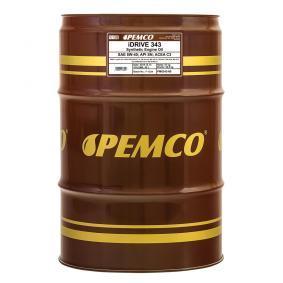 PM0343-60 PEMCO iDRIVE 300, iDRIVE 343 5W-40, 60l, Synthetiköl Motoröl PM0343-60 günstig kaufen