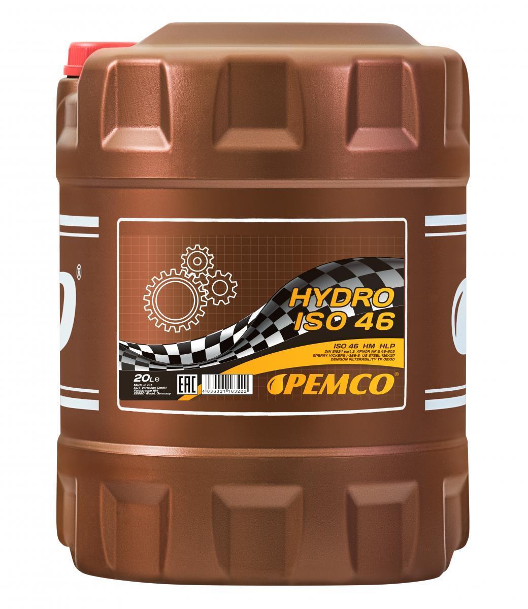 Iegādāties PEMCO Hidrauliskā eļļa PM2102-20 kravas auto