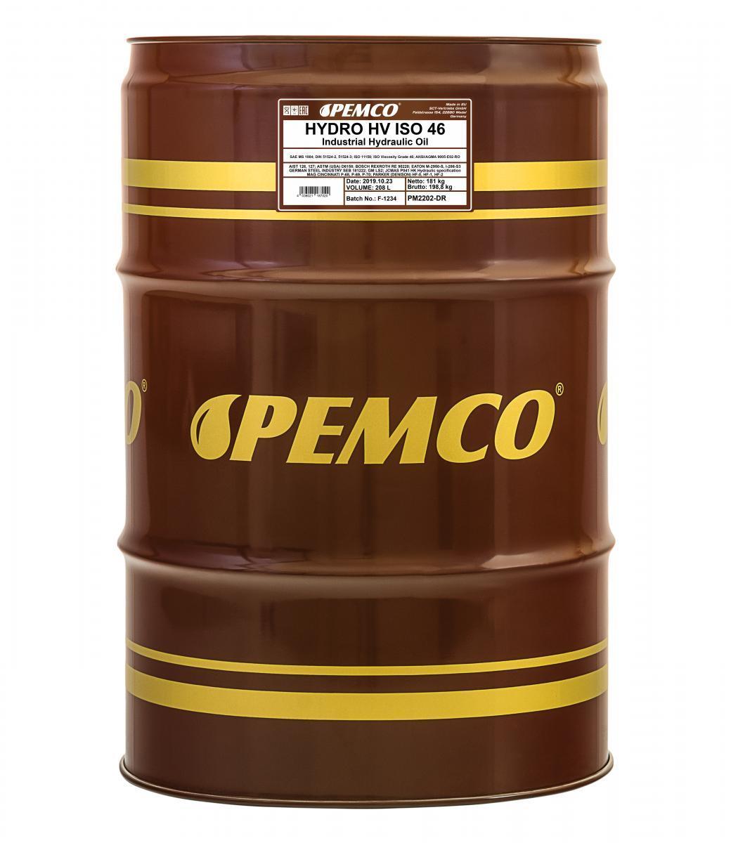 Iegādāties PEMCO Hidrauliskā eļļa PM2202-DR kravas auto