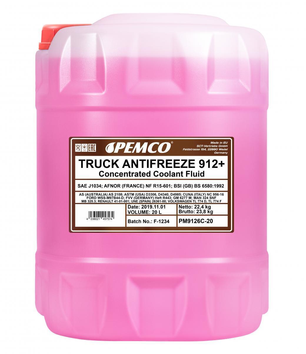 PEMCO Frostschutz für MAN - Artikelnummer: PM9126C-20
