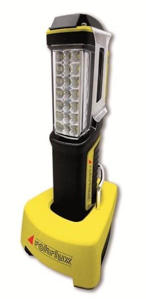 Купете 900600-00 ROHRLUX 3,7волт, 300мм, 100мм, тип на крушката: LED (светодиоди), магнитен, с кука, с USB-кабел време на светене: 6 / 12ч., капацитет на батерия: 4400mAh Ръчна лампа (фенерче) 900600-00 евтино