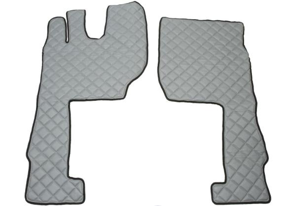 OE Original Passgenaue Fußmatten FF07 GRAY F-CORE