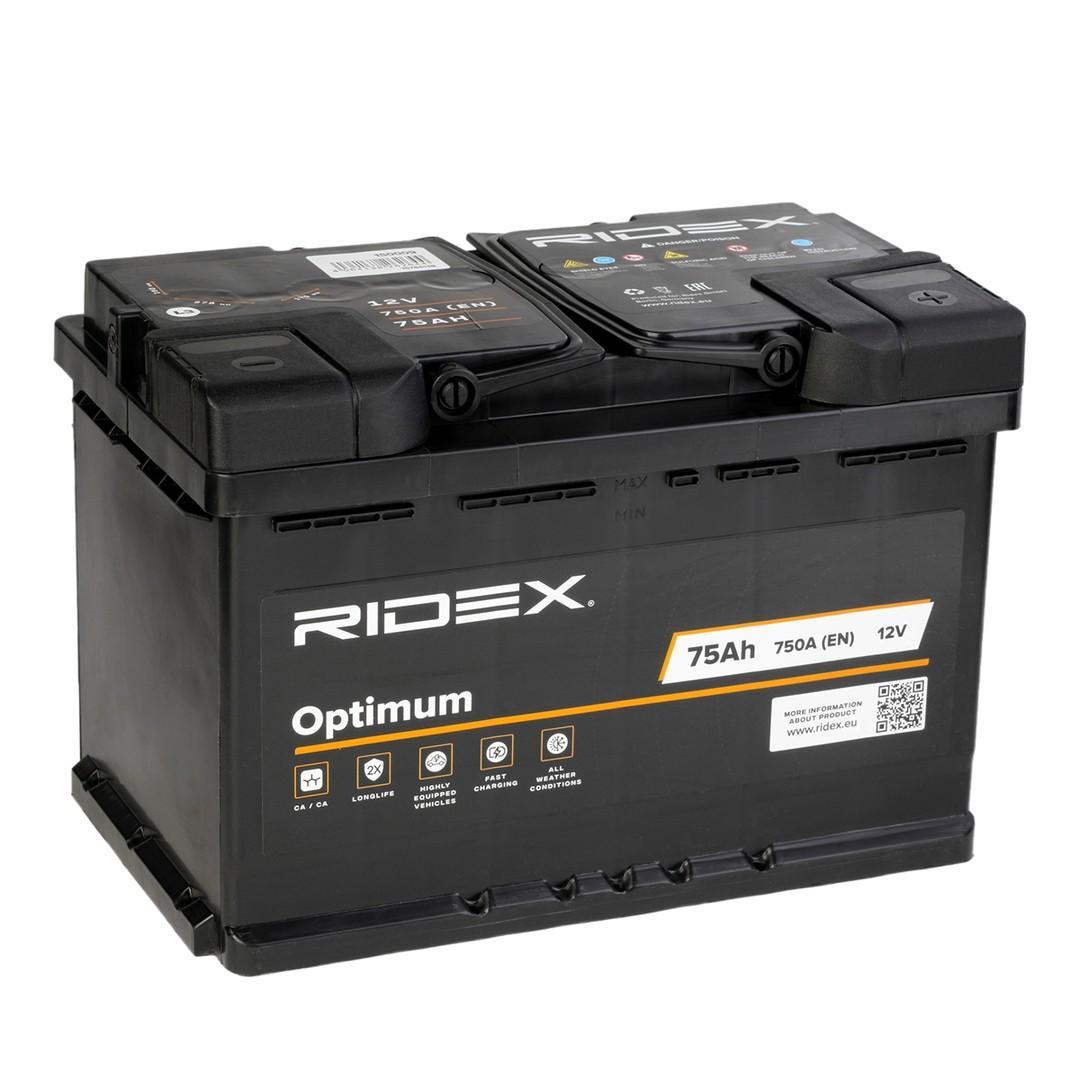 RIDEX   Starterbatterie 1S0009