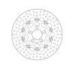 BREMBO Serie Oro, Floating Disk Bremsscheibe vorne, schwimmende 78B40822