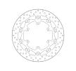 BREMBO Serie Oro Bremsscheibe vorne, schwimmende 78B40894