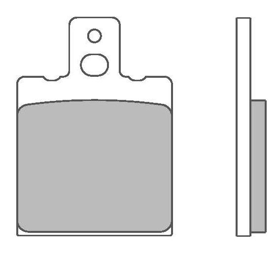Zestaw klocków hamulcowych, hamulce tarczowe 07BB3135 w niskiej cenie — kupić teraz!
