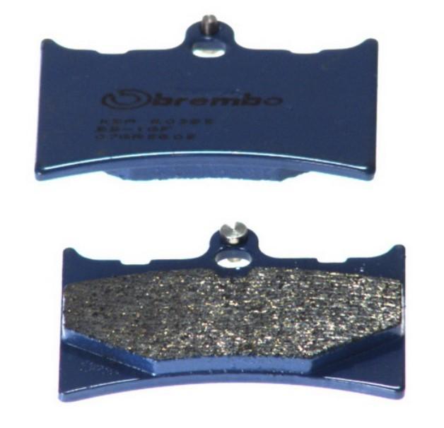 BREMBO Carbon Ceramic, Road Zestaw klocków hamulcowych, hamulce tarczowe z przodu i z tyłu 07GR5605 MZ