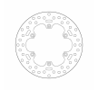 BREMBO Fixed , Serie Oro Brake Disc Rear 68B40752