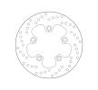 BREMBO Fixed , Serie Oro Bromsskiva Bak 68B40744