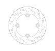 BREMBO Fixed , Serie Oro Bremsscheibe hinten 68B40747