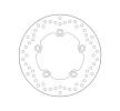 BREMBO Fixed , Serie Oro Bremsscheibe hinten 68B40750