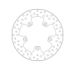 BREMBO Fixed , Serie Oro Brake Disc Rear 68B40768
