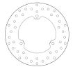BREMBO Oro Fixed Disc Bremsscheibe hinten 68B407P0