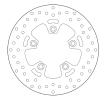 BREMBO Oro Fixed Disc Bromsskiva Bak 68B40771