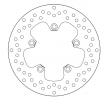 BREMBO Oro Fixed Disc Bremsscheibe hinten 68B407H3