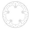 BREMBO Brake Disc Rear 68B407C0 HUSQVARNA
