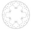BREMBO Brake Disc Rear 68B407F0