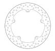 Günstige Bremsscheibe mit Artikelnummer: 68B407D6 jetzt bestellen