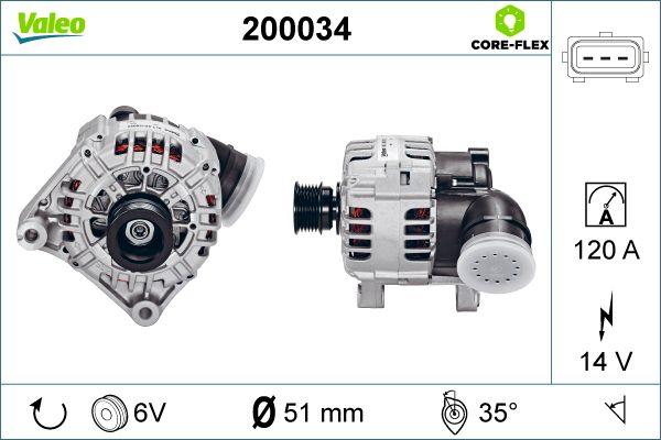 Lichtmaschine VALEO 200034 Bewertungen
