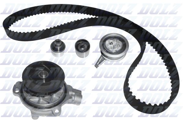 Volkswagen T-ROC 2019 Belts, chains, rollers DOLZ KD153: Teeth Quant.: 145