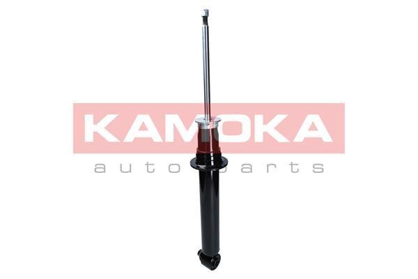 Купете 2000652 KAMOKA задна ос, газов, двутръбен, макферсън, отгоре щифт, ухо отдолу Амортисьор 2000652 евтино