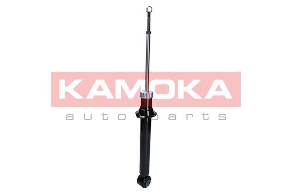Купете 2000687 KAMOKA задна ос, газов, двутръбен, макферсън, отгоре щифт, ухо отдолу Амортисьор 2000687 евтино