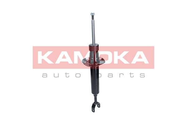 Купете 2000713 KAMOKA с пружинно легло, предна ос, газов, двутръбен, макферсън, отгоре щифт Амортисьор 2000713 евтино