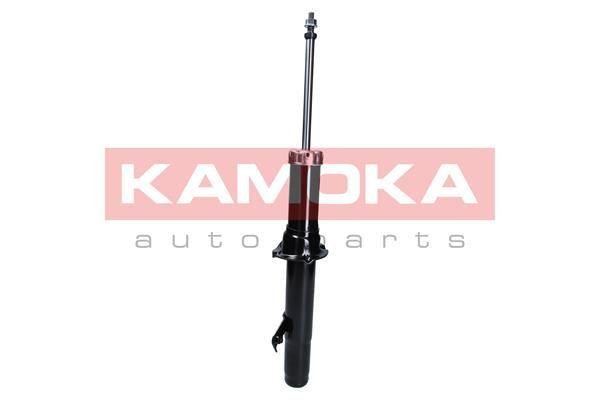 Купете 2000716 KAMOKA на предната ос отляво, газов, двутръбен, макферсън, отгоре щифт Амортисьор 2000716 евтино