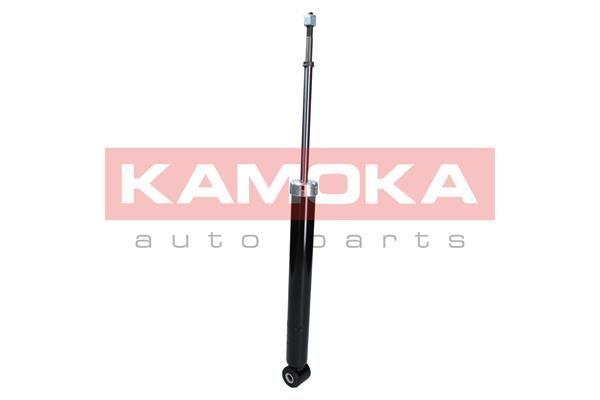 Купете 2000725 KAMOKA задна ос, газов, двутръбен, макферсън, отгоре щифт, ухо отдолу Амортисьор 2000725 евтино