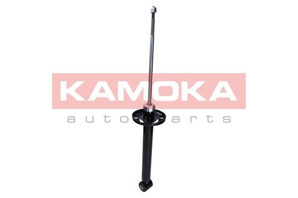 Купете 2000979 KAMOKA задна ос, маслен, макферсън, отгоре щифт, ухо отдолу Амортисьор 2000979 евтино
