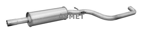 ASMET: Original Vorschalldämpfer 03.116 ()