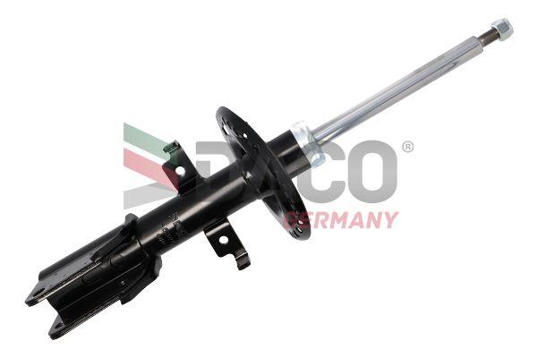453041 DACO Germany Gasdruck, Zweirohr, Federbein, oben Stift, unten Schelle Stoßdämpfer 453041 günstig kaufen