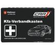 CO 6000 Førstehjælpstaske DIN 13164, 750g, forbindingskasse, Das Set beinhaltet: Førstehjælpssæt til bilen, med kuffert fra CAR1 til lave priser - køb nu!
