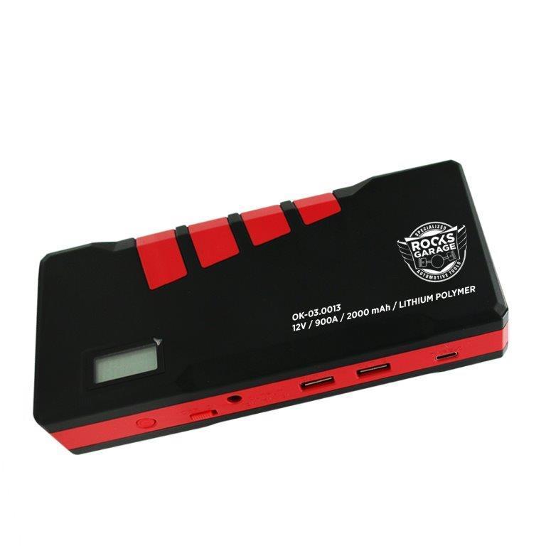OK030013 Starthilfe-Booster ROOKS OK-03.0013 - Große Auswahl - stark reduziert