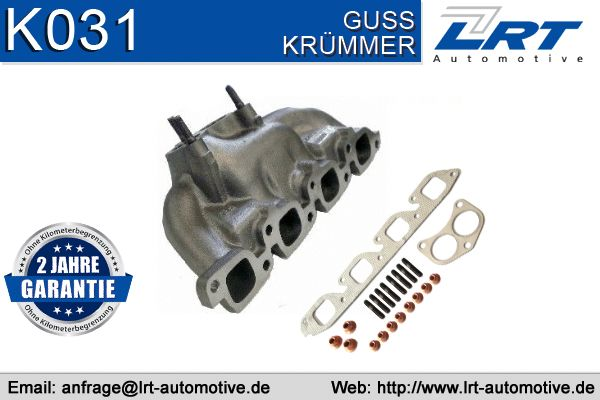 Ford MONDEO 2014 Manifold exhaust system VEGAZ FAK-218: