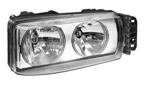 LKQ Headlight for IVECO - item number: KH9710 0142