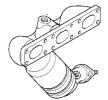 Katalysator 1090986 mit vorteilhaften JMJ Preis-Leistungs-Verhältnis