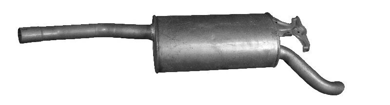 Original MERCEDES-BENZ Endschalldämpfer 07.278