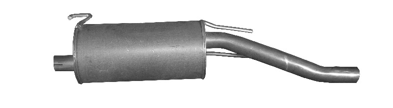 Original Endschalldämpfer 21.045 Opel
