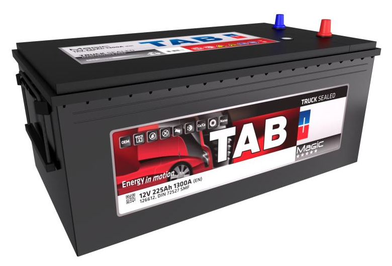 Original IVECO Batterie 126612