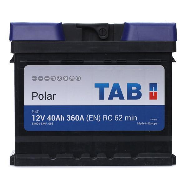 TAB: Original Starterbatterie 246044 (Kälteprüfstrom EN: 360A, Spannung: 12V, Polanordnung: 00)