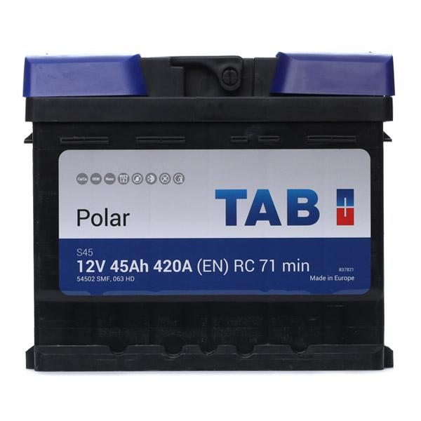 OPEL ZAFIRA 2020 Starterbatterie - Original TAB 246045 Kälteprüfstrom EN: 420A, Spannung: 12V, Polanordnung: 00