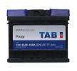 Acheter Batterie auto Courant d'essai à froid, EN: 420A, Volt: 12V, Disposition pôles: 0, 00 TAB 246045 à tout moment