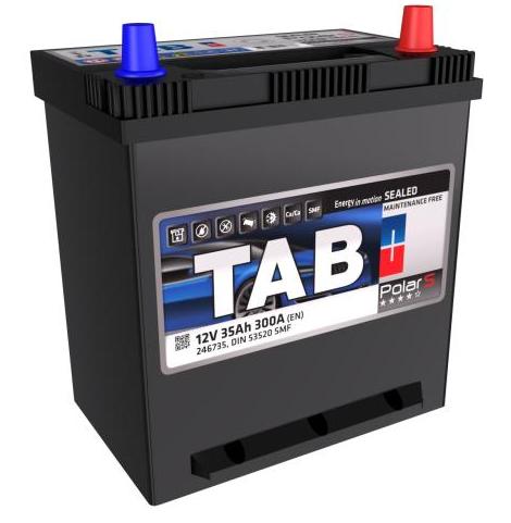 Achetez Électricité auto TAB 246735 (Courant d'essai à froid, EN: 300A, Volt: 12V, Disposition pôles: 0, 01) à un rapport qualité-prix exceptionnel