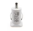 AMiO 01026 Zigarettenanzünder Ladegeräte / Ladekabel Anzahl d. Ein-/Ausgänge: 2 USB, weiß niedrige Preise - Jetzt kaufen!