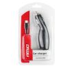 01265 Caricabatterie USB auto N° entrate/uscite: 1x microUSB, con condotto, nero del marchio AMiO a prezzi ridotti: li acquisti adesso!